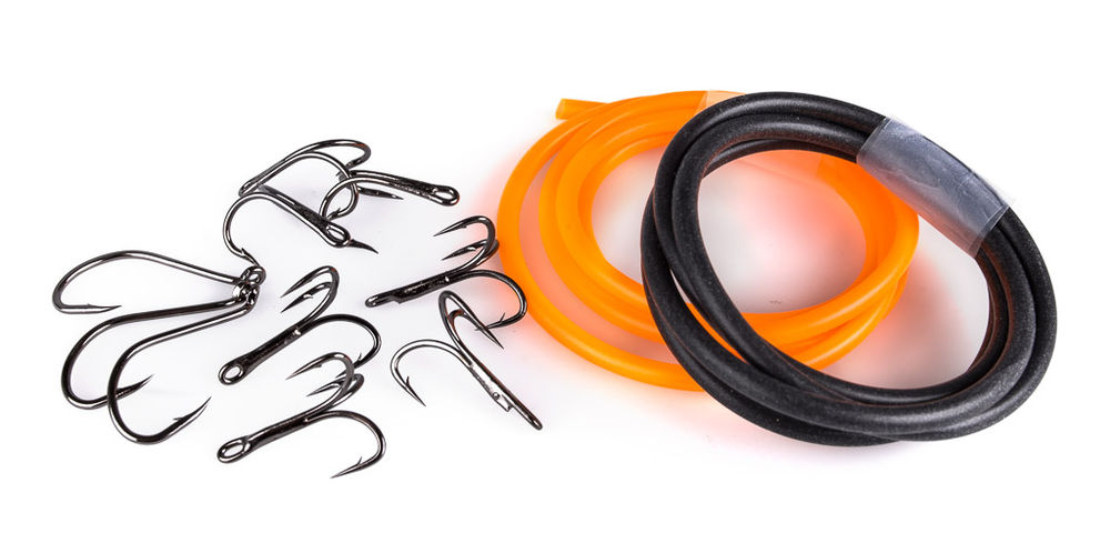 Tube fly accessories and Hooks