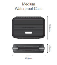 C&F Design Waterproof Tube Fly Cases - Medium