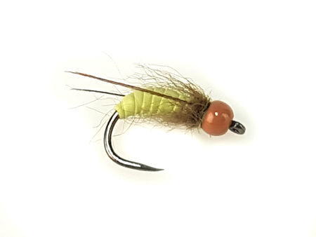 H.S.C. Bead Head Caddis Pupa