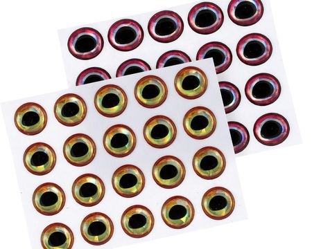 Ultra 3D Epoxy Eyes -  8mm