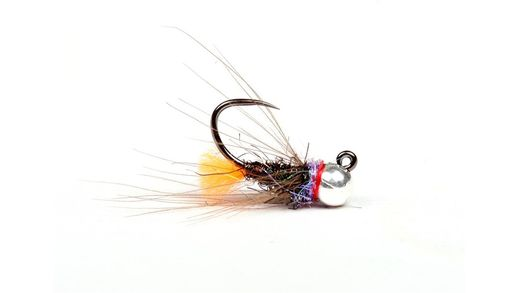 Bootlace Orange Tag Euro Nymph