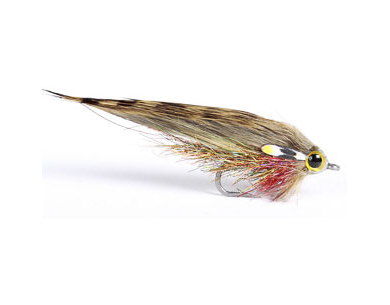 Midi Zonker Streamer - Natural Minnow