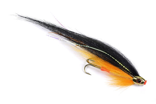 Guideline Black&Orange ScullRay - Tube Fly