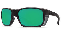 Green Mirror 580p Plastic Lens - Matt Black Frame
