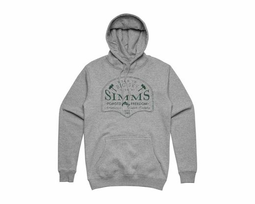 Simms Big Sky Hoody - Grey Heather
