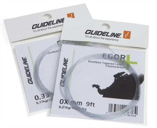 Guideline Egor+ Fluorocarbon Leader - 9ft