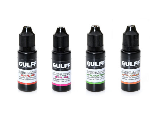 Gulff Ambulance UV Resins - Fluorescent