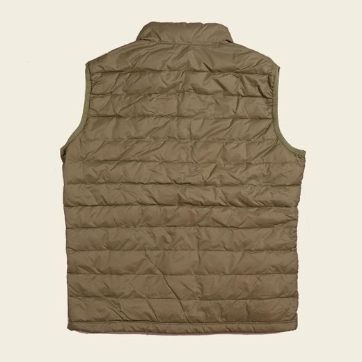 Spey Brothers Down Vest- Light Olive
