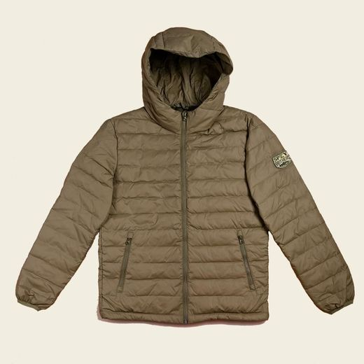 Spey Brothers Down Jacket - Light Olive